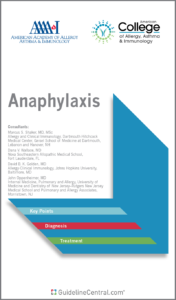 Anaphylaxis GUIDELINES Pocket Guide