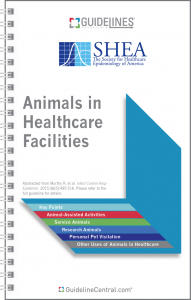 Animals in Healthcare Facilities GUIDELINES Pocket Guide