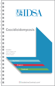 Coccidioidomycosis GUIDELINES Pocket Card