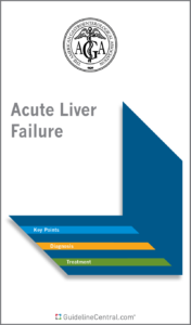 Acute Liver Failure Management GUIDELINES Pocket Guide