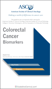 Colorectal Biomarkers Guideline