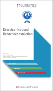 Exercise-Induced Bronchoconstriction (ATS) GUIDELINES Pocket Guide