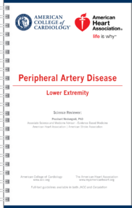 Lower Extremity Peripheral Artery Disease GUIDELINES Pocket Guide