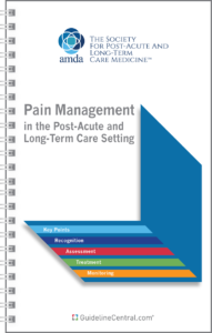 AMDA Pain Guidelines