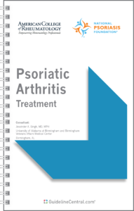 Psoriatic Arthritis Treatment GUIDELINES Pocket Guide