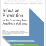 SHEA Infection Prevention in the Operating Room Anesthesia Work Area Title Cover