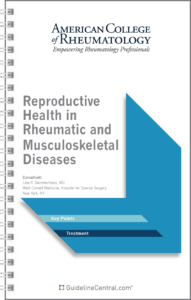 ACR Reproductive Health Guidelines Pocket Guide Cover