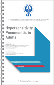 ATS Hypersensitivity Pneumonitis in Adults Pocket Guide Cover