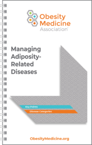 OMA Managing Adiposity-Related Diseases Pocket Guide Cover